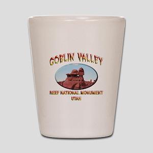 Goblin Valley Utah Shot Glass