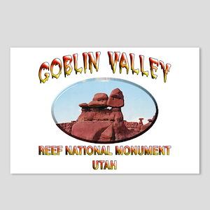 Goblin Valley Utah Postcards (Package of 8)