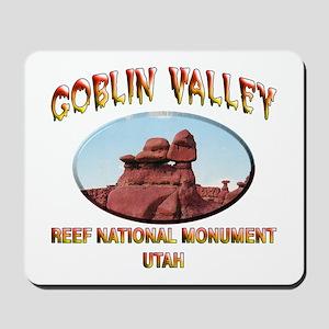 Goblin Valley Utah Mousepad
