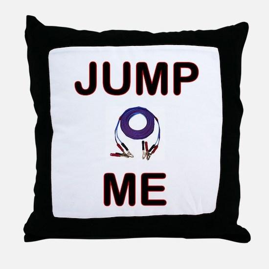 "Carchick's ""Jump Me"" Throw Pillow"
