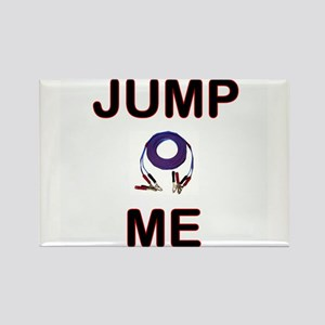 """Carchick's """"Jump Me"""" Rectangle Magnet"""