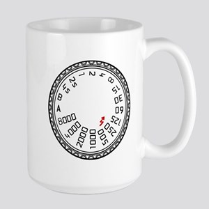Leica Mode Dial Large Mug