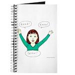 Girls know: READ.KNOW.GROW. Journal