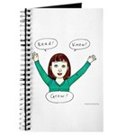 Girls Know: Read.know.grow. Journal Notebook