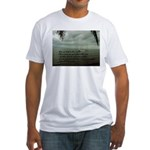 back to the sea Fitted T-Shirt
