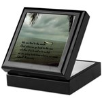 back to the sea Keepsake Box