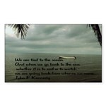 back to the sea Sticker (Rectangle 10 pk)
