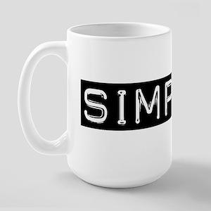 Simplify Large Mug