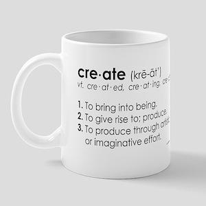 create DEFINITION Mug