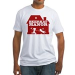 Beerkat Manor Red Fitted T-Shirt