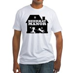 Beerkat Manor Black Fitted T-Shirt