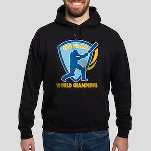 Cricket India Champions Hoodie (dark)