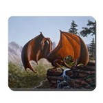 Summer Dragon Mousepad