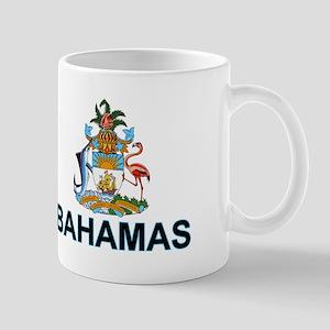 Bahamian Arms (labeled) Mug