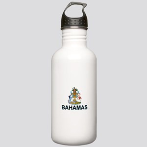 Bahamian Arms (labeled) Stainless Water Bottle 1.0