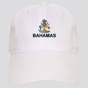 Bahamian Arms (labeled) Cap