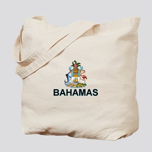 Bahamian Arms (labeled) Tote Bag