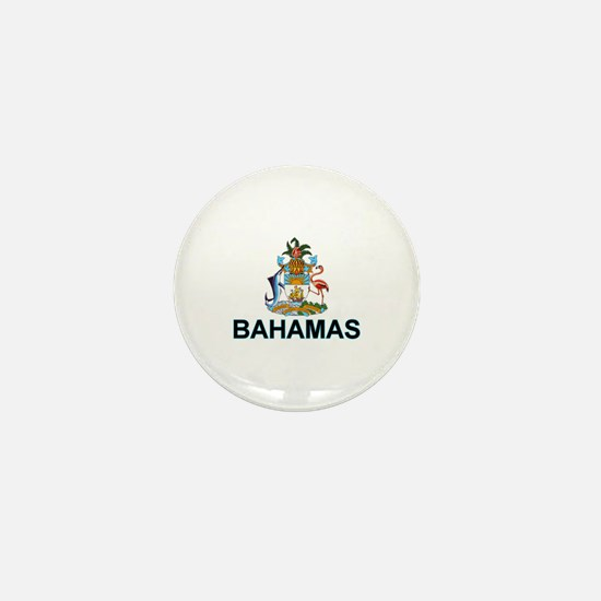 Bahamian Arms (labeled) Mini Button