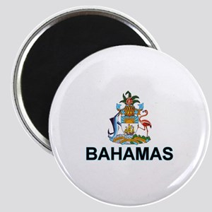 Bahamian Arms (labeled) Magnet