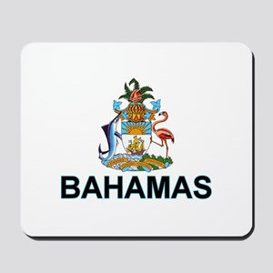 Bahamian Arms (labeled) Mousepad