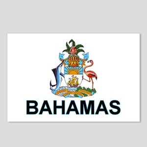 Bahamian Arms (labeled) Postcards (Package of 8)