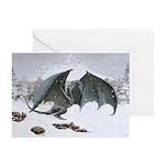 Winter Dragon: Greeting Cards (Pk of 10)
