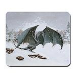 Winter Dragon: Mousepad