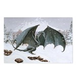 Winter Dragon: Postcards (Package of 8)