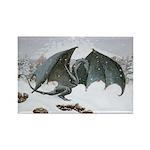 Winter Dragon: Rectangle Magnet (10 pack)