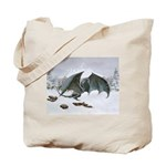 Winter Dragon: Tote Bag