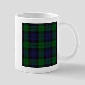 Blue Green Highland Sunderland Tartan Check Mugs