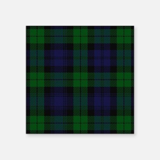 Blue Green Highland Sunderland Tartan Check Sticke