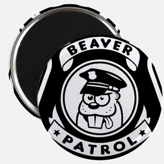 Beaver Patrol Magnets