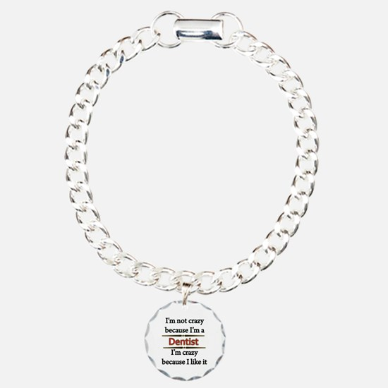 Unique Dentist Charm Bracelet, One Charm