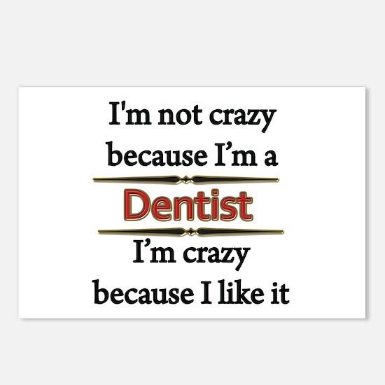 Cute Dentist Postcards (Package of 8)