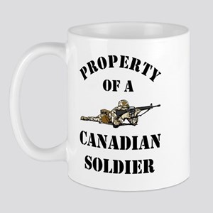 Property of Canadian Soldier Mug