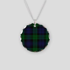 Blue Green Highland Sunderland Tartan Check Neckla