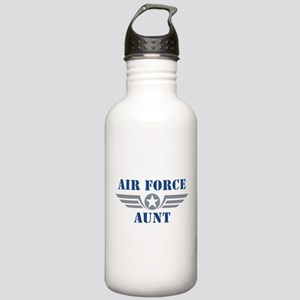 Air Force Aunt Stainless Water Bottle 1.0L