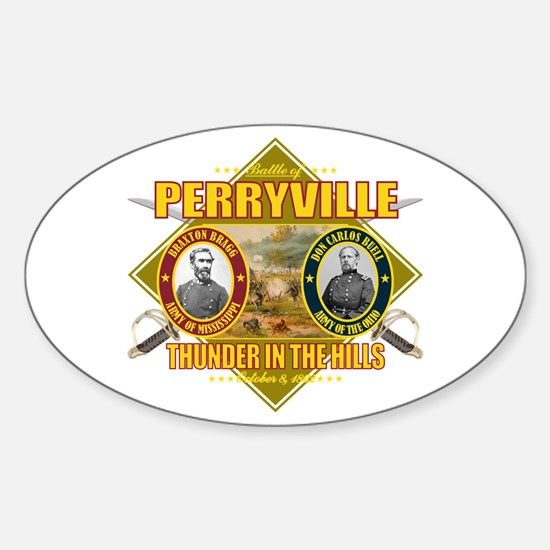 Battle of Perryville Sticker (Oval)