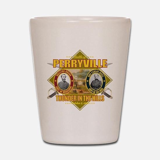 Battle of Perryville Shot Glass