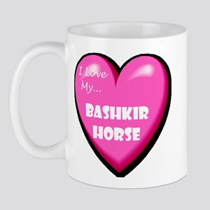 I Love My Bashkir Horse Mug