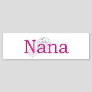 Nana Pink Sticker (Bumper)
