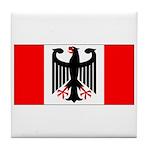 German Canadian Tile Coaster