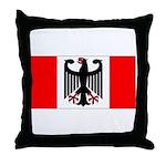German Canadian Throw Pillow