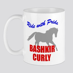 Ride With Pride Bashkir Curly Mug