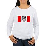German Canadian Women's Long Sleeve T-Shirt