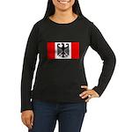 German Canadian Women's Long Sleeve Dark T-Shirt