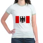 German Canadian Jr. Ringer T-Shirt