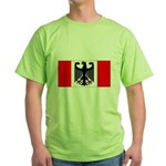 German Canadian Green T-Shirt