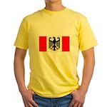 German Canadian Yellow T-Shirt